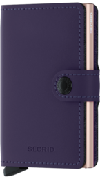 Secrid Miniwallet - Matte  purple rose