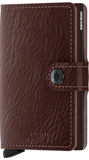 Secrid Miniwallet - Veg navy espresso brown